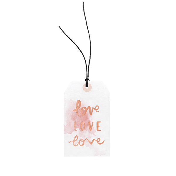 Love Love Love // Gift Tag The Wholesome Gift Box
