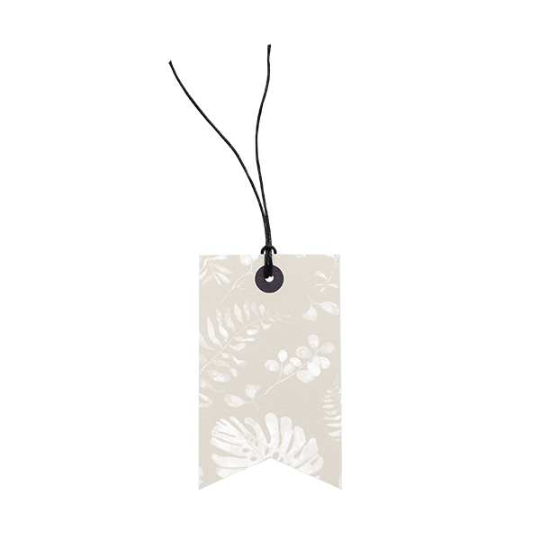 White Leaf // Gift Tag The Wholesome Gift Box