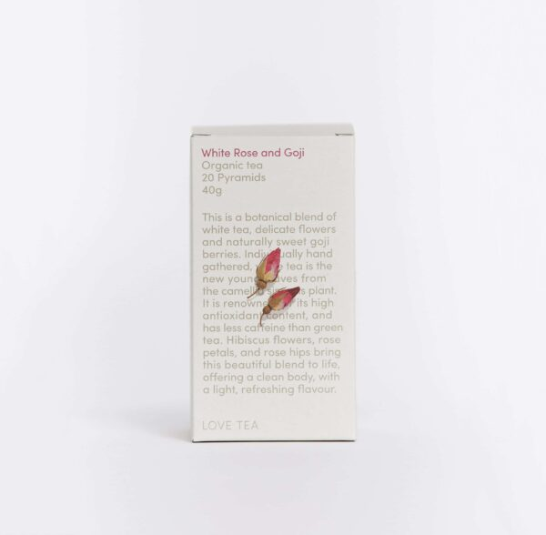 Love Tea, White Rose Goji The Wholesome Gift Box