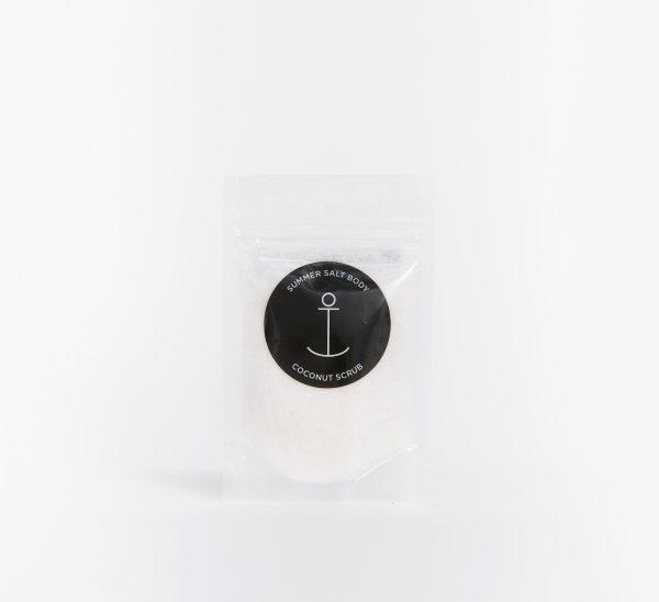 Summer Salt Body, Coconut Mini Salt Scrub The Wholesome Gift Box