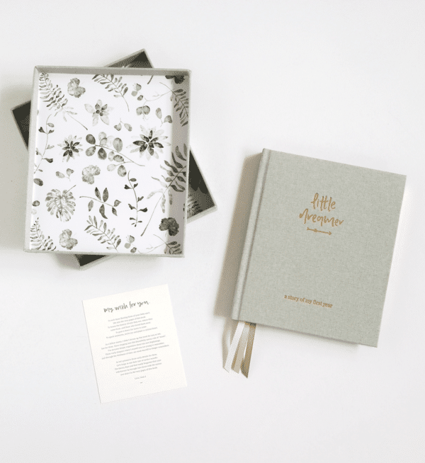 Emma Kate Co. Baby Journal The Wholesome Gift Box
