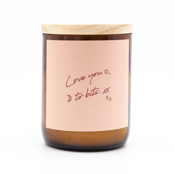 The Commonfolk Collective, Soy Candle – Love You To Bits The Wholesome Gift Box
