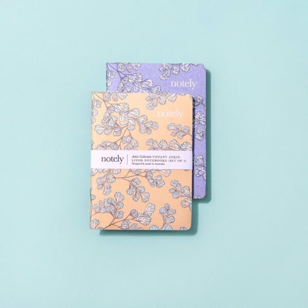 Notely, Fancy Fern Pocket Notebook The Wholesome Gift Box