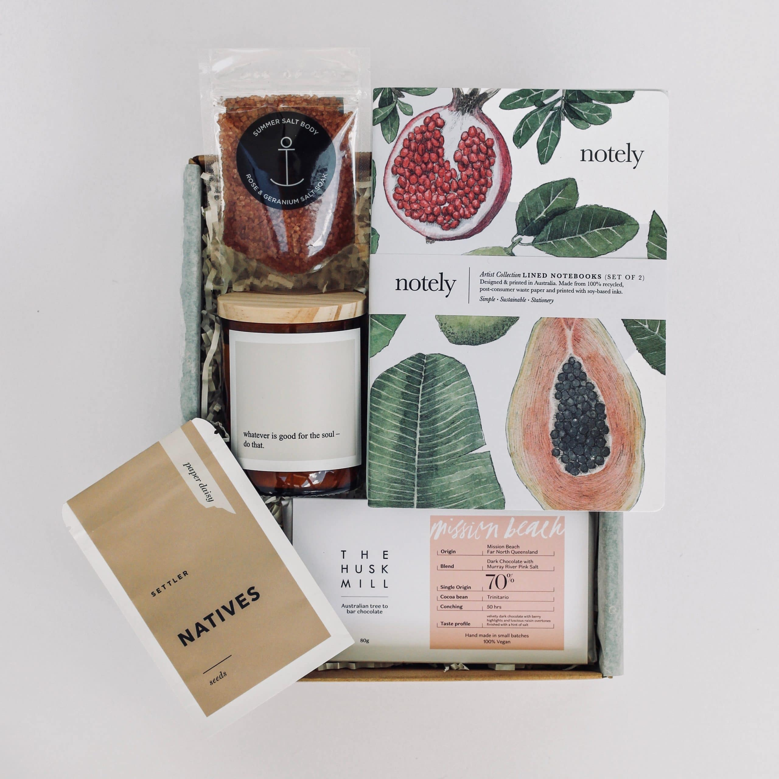 Birthday gift ideas from The Wholesome Gift Box